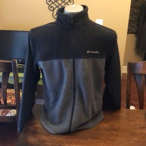 Columbia fleece zip up EUC size large